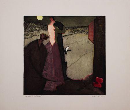 Aguafuerte Y Aguatinta Nieuwenhuys - Cyrano declare son amour