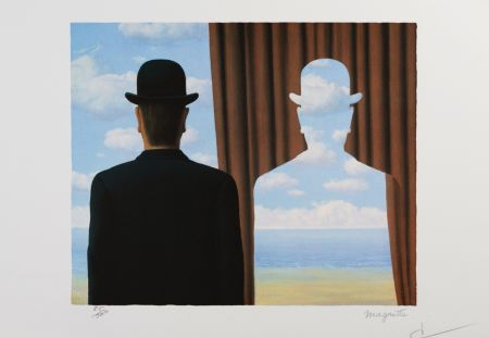 Litografía Magritte - Décalcomanie (Decalcomania)