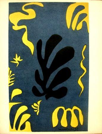 Litografía Matisse - Découpages Pour Le Xx E  Siecle