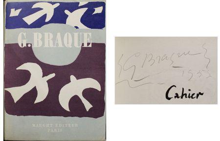 Sin Técnico Braque - Dédicace / dessin pour Cahier de Georges Braque 1917-1947