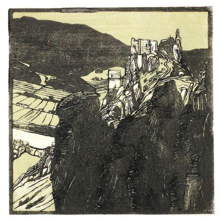 Grabado En Madera Henneberg - Dürnstein