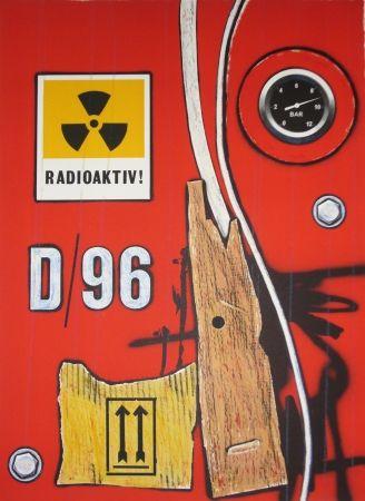 Litografía Klasen - D 96