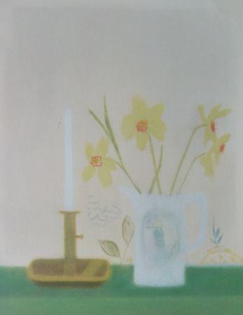 Serigrafía Aitchison - Daffodils & Candlestick