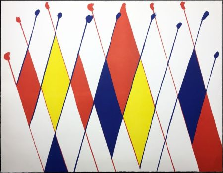 Litografía Calder -