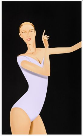 Serigrafía Katz - Dancer 1