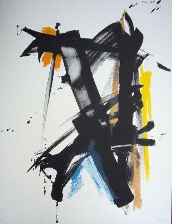 Litografía Miotte - Danse espiegle