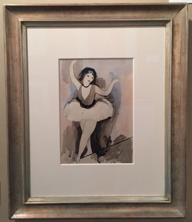 Pochoir Laurencin - Danseuse