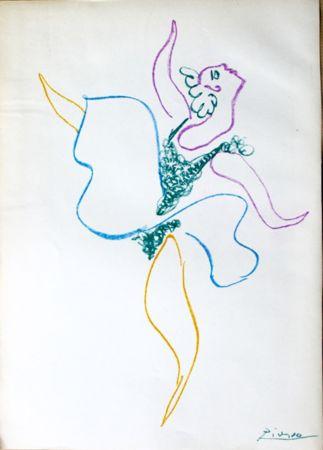 Litografía Picasso -  Danseuse