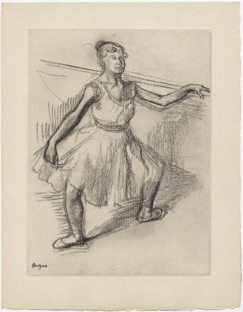 Aguafuerte Degas - Danseuse (étude, vers 1878)