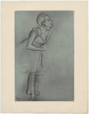 Aguafuerte Y Aguatinta Degas - Danseuse (étude, vers 1878)