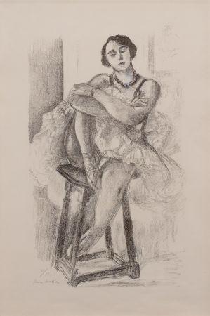 Litografía Matisse - Danseuse au Tabouret, from Dix Danseuses