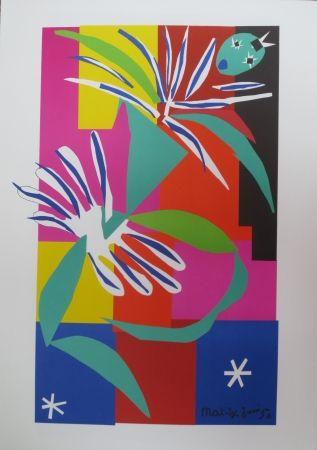 Litografía Matisse - Danseuse créole