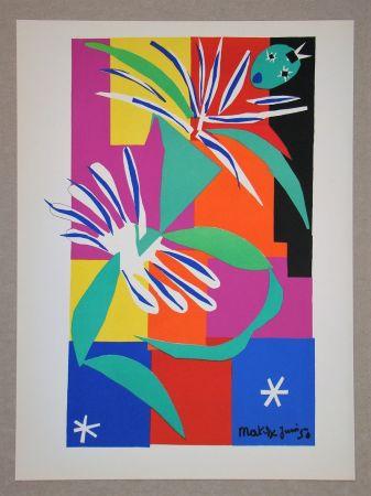 Litografía Matisse (After) - Danseuse Créole - 1950