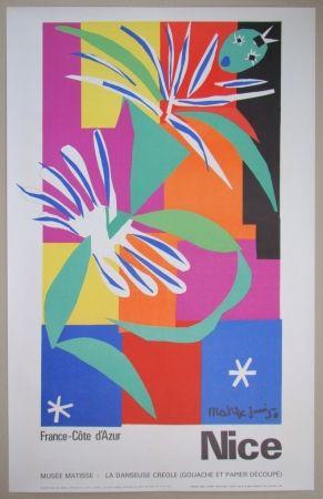 Litografía Matisse - Danseuse créole, 1950