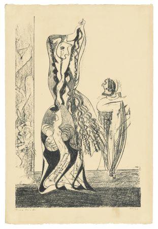 Litografía Ernst - Danseuses