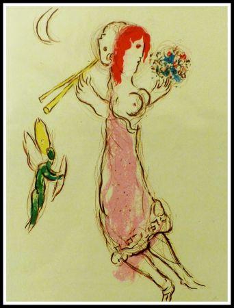 Litografía Chagall - DAPHNIS & CHLOE