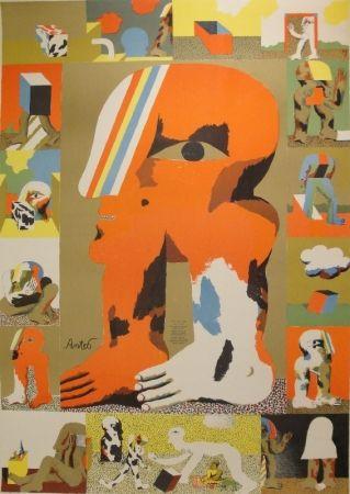 Litografía Antes - Das graphische Werk 1959 bis 1967