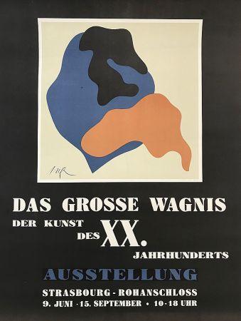 Litografía Arp - Das Grosse Wagnis