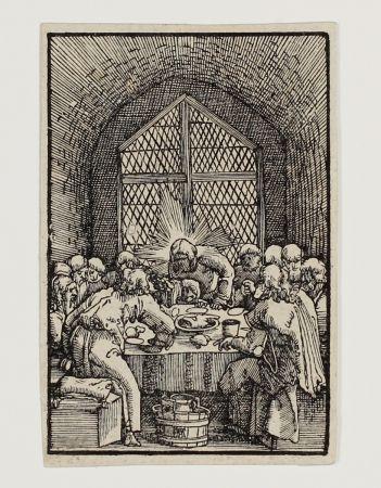 Grabado En Madera Altdorfer - Das letzte Abendmahl (The last Supper)
