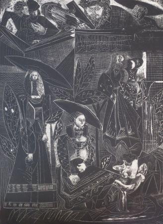 Litografía Picasso - David et Bethsabée