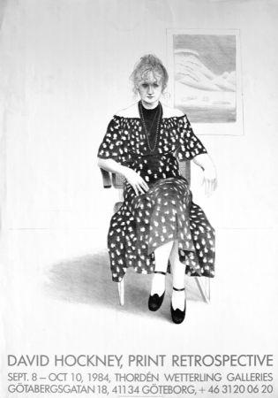 Sin Técnico Hockney - David Hockney, Print Retrospective