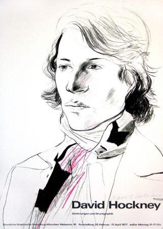 Cartel Hockney - David Hockney, Zeichnungen und Druckgraphik