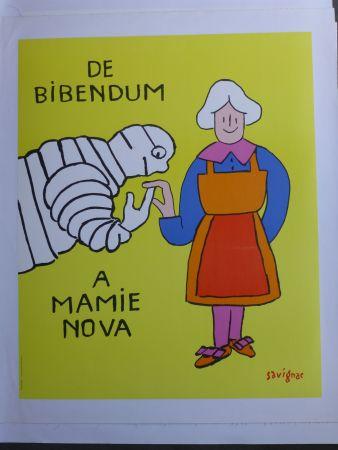 Cartel Savignac - De bibendum à mamy nova