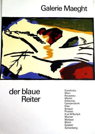 Litografía Kandinsky - De Blaue Reiter