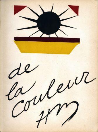 Litografía Matisse - De la Colour