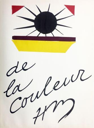 Litografía Matisse - DE LA COULEUR  (Pour la revue Verve n°13, 1945)