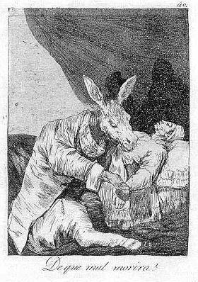 Aguafuerte Y Aguatinta Goya - De que mal morirà?