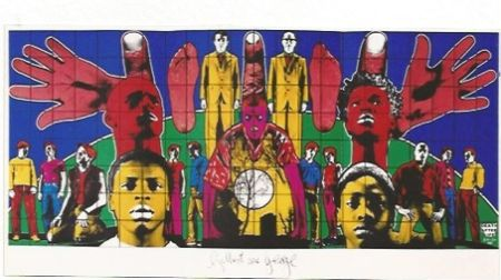 Serigrafía Gilbert & George - Death after Life