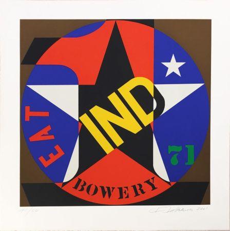 Serigrafía Indiana - Decade Autoportrait '61