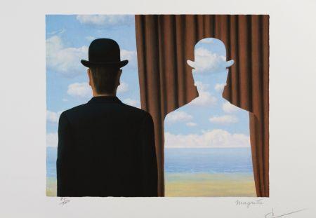Litografía Magritte - Decalcomanie