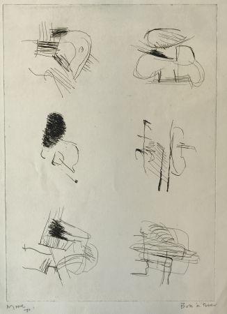 Grabado Moore - Deconstructed Figures II