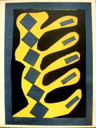 Litografía Matisse - Decoupages Pour Le Xxe  Siecle
