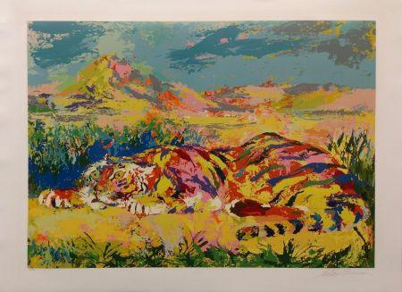 Serigrafía Neiman - DELACROIX'S TIGER