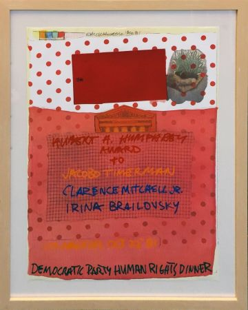 Litografía Rauschenberg - DEMOCRATIC PARTY HUMAN RIGHTS DINNER