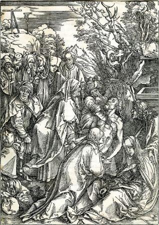 Grabado En Madera Durer - Deposition of Christ (The Large Passion), c. 1496-97