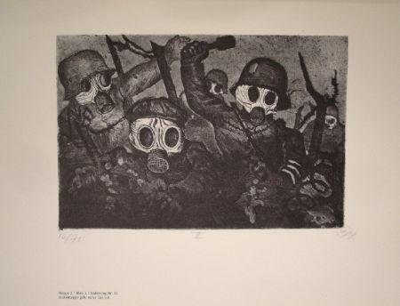 Libro Ilustrado Dix - Der Krieg