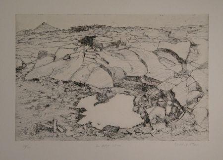 Grabado Moser - Der letzte Schnee