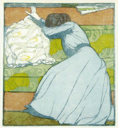 Grabado En Madera Kurzweil - Der Polster (The Pillow)