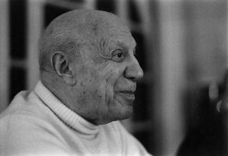 Fotografía Clergue - DERNIER PORTRAIT DE P. PICASSO