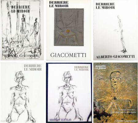 Libro Ilustrado Giacometti - DERRIÈRE LE MIROIR. COLLECTION COMPLÈTE DES NUMÉROS CONSACRÉS À A. GIACOMETTI (1951-1979)
