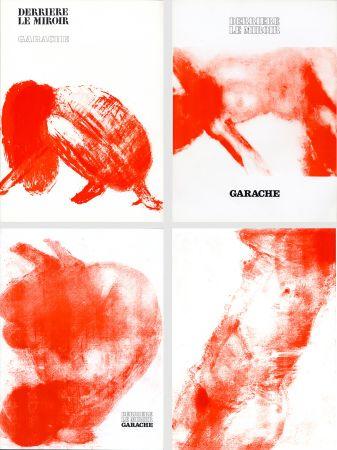 Libro Ilustrado Garache - DERRIÈRE LE MIROIR. GARACHE. Réunion des 3 numéros de la revue consacrés à Claude Garache (de 1975 à 1980).