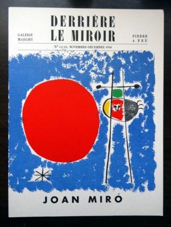 Libro Ilustrado Miró - DERRIÈRE LE MIROIR N°14 - 15