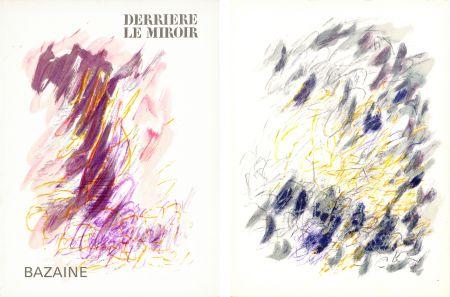 Libro Ilustrado Bazaine - DERRIÈRE LE MIROIR N°170. Mars 1968. 6 LITHOGRAPHIES ORIGINALES EN COULEURS.