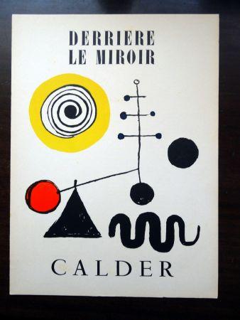 Libro Ilustrado Calder - DERRIÈRE LE MIROIR N°31
