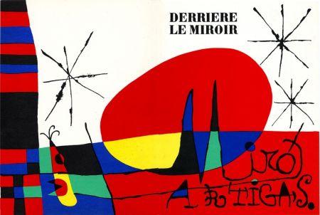 Litografía Miró - Derrière Le Miroir N°87-88-89. Miro Artigas. Juin-Juillet-Août 1956.