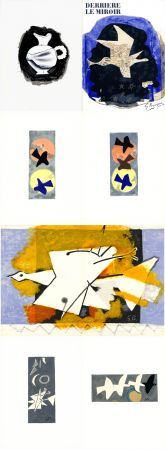 Libro Ilustrado Braque - DERRIÈRE LE MIROIR N° 115. BRAQUE. Juin-Juillet 1959.